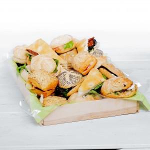 """Plateau sandwiches """"Veggie """" -16 pces."""