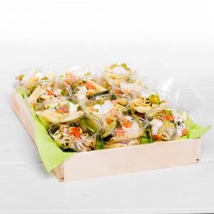 "Plateau Verrines ""Pasta salads"" 12 pces"