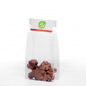Sachet de Cacahuètes enrobées au chocolat