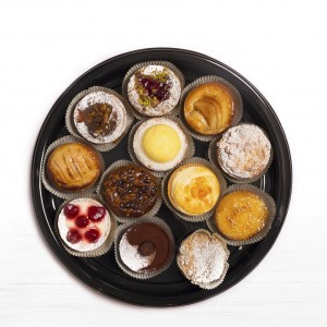 Assortment of artisanal tarts 12
