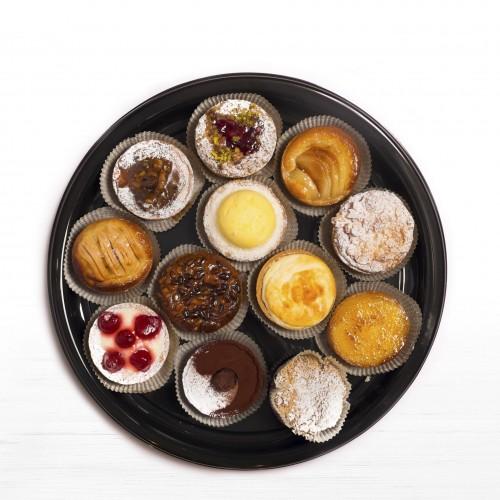 taarten assortiment 12p