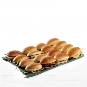 """Plateau """"Sandwichs moëlleux"""" 16 pièces"""